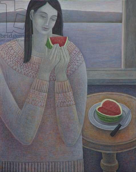 Watermelon, 2017 (oil on canvas)