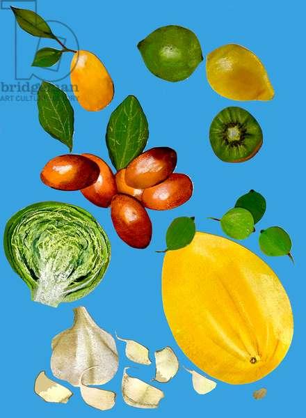 Fruit & veggies 2020 (cutout)