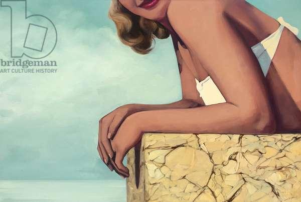 Summer Girl, 2018, (oil on canvas)