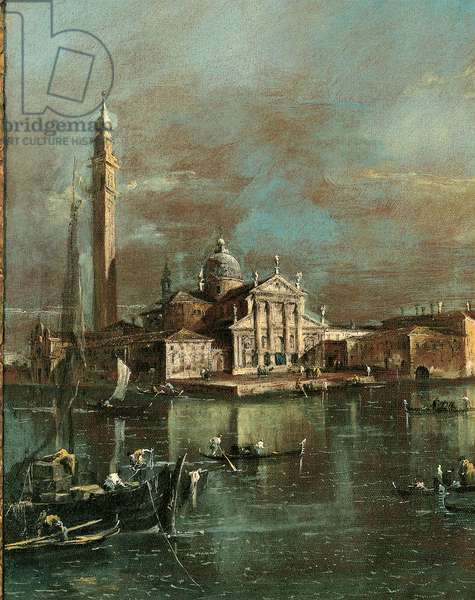 Bacino di San Marco with San Giorgio and the Giudecca, 1774 (oil on canvas)