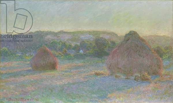 Stacks of Wheat, End of Summer, 1890-91 (oil on canvas)