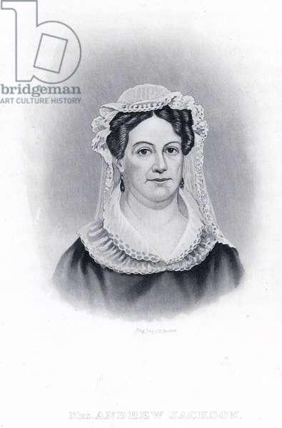 Mrs Andrew Jackson (engraving)