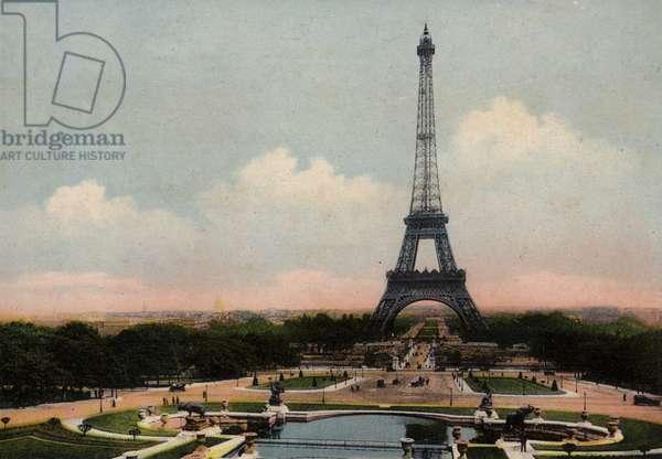 Paris: La Tour Eiffel, The Eiffel Tower (photo)