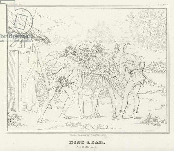 King Lear, Act III, Scene 4 (engraving)