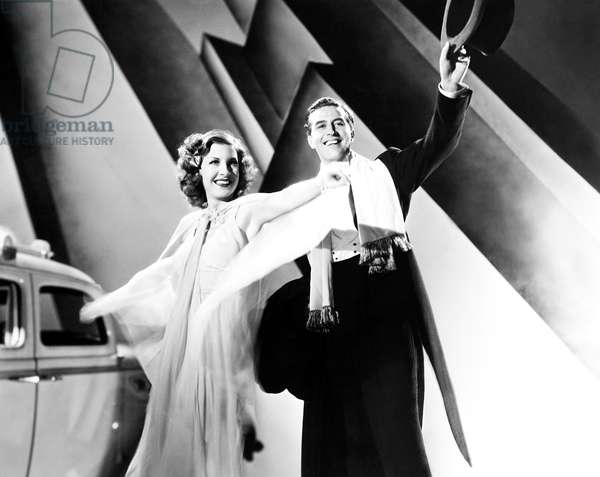 THE BIG BROADCAST OF 1937, from left, Shirley Ross, Ray Milland, 1936