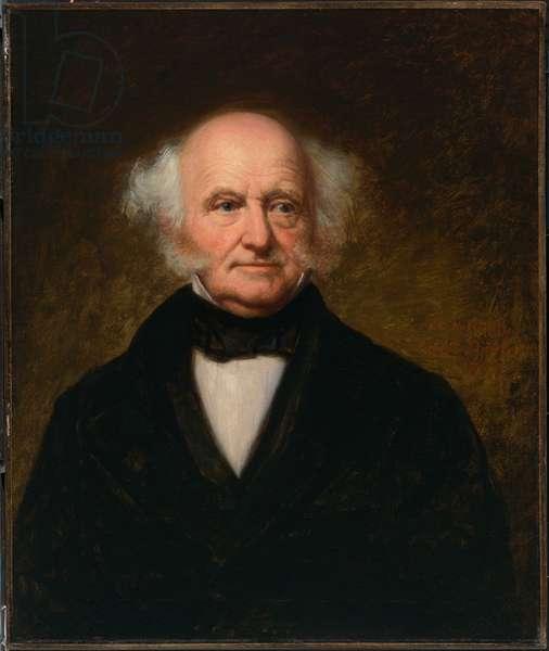 Martin Van Buren (1782-1862), 1857 (oil on canvas)