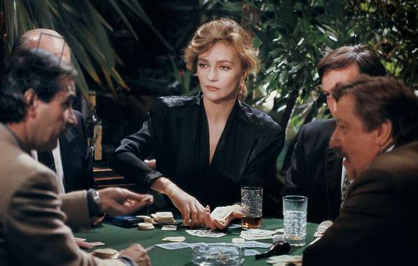 Poker de Catherine Corsini avec Caroline Cellier, Pierre Arditi (par derrière), 1988