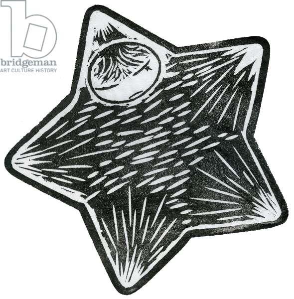 Star Child, 2013 (watercolour on washi)