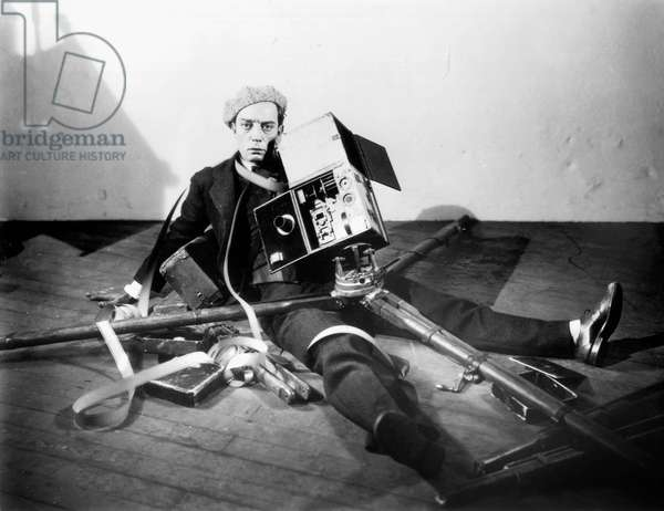 drôle acteur Buster Keaton (1895-1966)