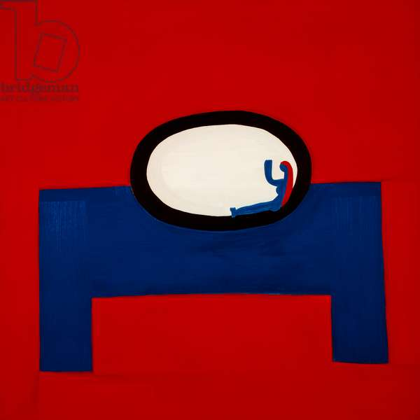 Plate on the table,1998,(oil on linen)