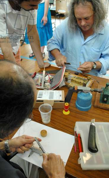 Oboe reed manufacture