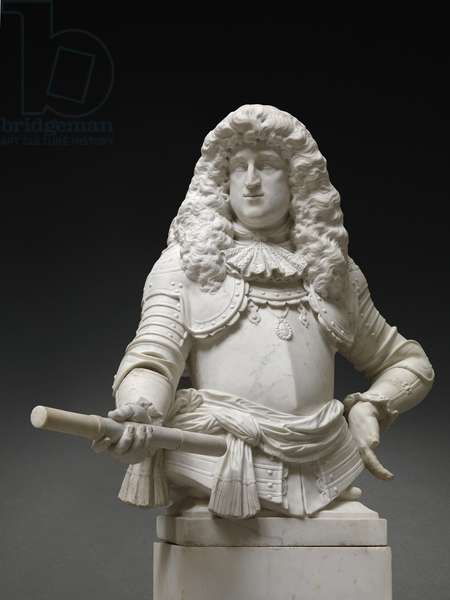 Juan Domingo de Zuñiga y Fonseca, Count of Monterey, Governor of the Habsburg Netherlands (marble)