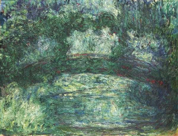 Le Pont Japonais, 1918-24 (oil on canvas)