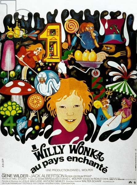 Charlie et la Chocolaterie Willy Wonka au pays enchante WILLY WONKA AND THE CHOCOLATE FActorY de MelStuart avec Peter Ostrum, Jack Albertson, 1971