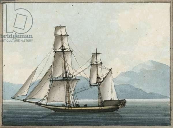 The Bombay Grab, 1809 (w/c)