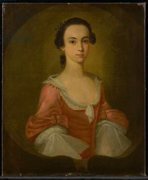Portrait of Mrs. Gardner Greene, 1770 (oil on canvas)