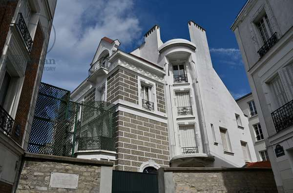 House of Dalida/Rue d'Orchampt/Montmartre/Paris XVIII