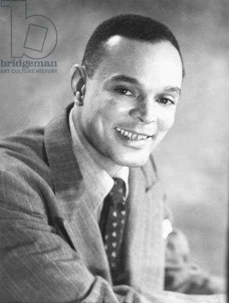 Chester Bomar Himes, African American author of a series of Harlem Detective novels. He was an ex-convict and published author when Langston Hughes mentored him in 1936. Three movies were based on his works: COTTON CONES TO HARLEM, 1970; COMEBACK CHARLES BLUE, 1972, and A RAGE IN HARLEM, 1991