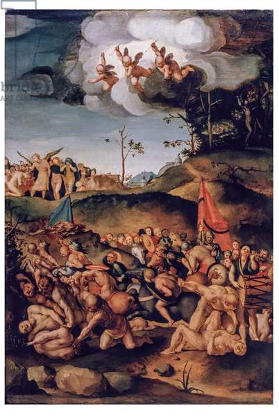 The ten thousand martyrs, 1529-1530 (oil on board)