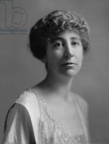 Jeannette Rankin (1880-1973), first woman member of the U.S. Congress (1917–19, 1941–43),