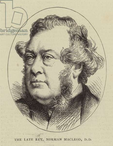 The Late Reverend Norman Macleod, DD (engraving)