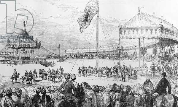 Proclamation of Queen Victoria, Empress of India