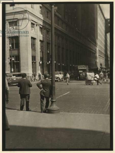 Penn Station Porters, USA, c.1920-38 (gelatin silver photo)