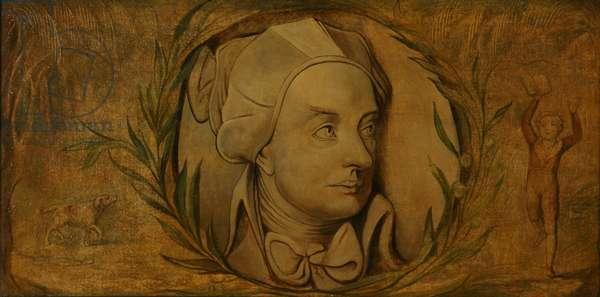 William Cowper (tempera on canvas)