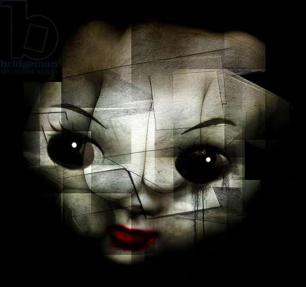 Kill the clown,  2013 (photo manipulation)
