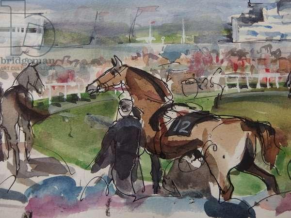 Racing, the Paddock
