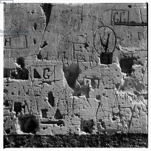Paris wall, c.1951-54 (b/w photo)