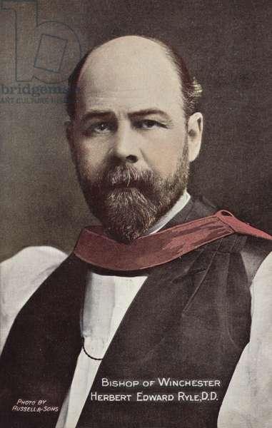 Bishop of Winchester, Herbert Edward Ryle, DD (photo)