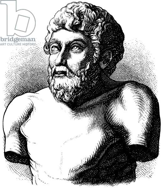 Aesop, Esop (ca. 620-564 BC), Greek poet, author of fables ascribed to him (Aesop's Fables)
