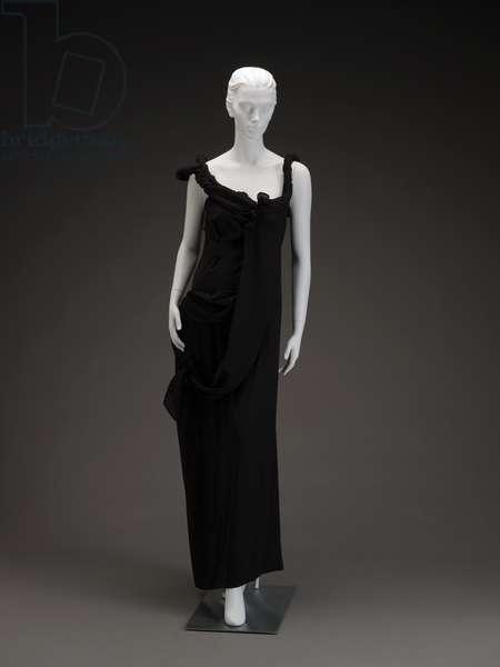 Evening dress, 1998 (polyester)