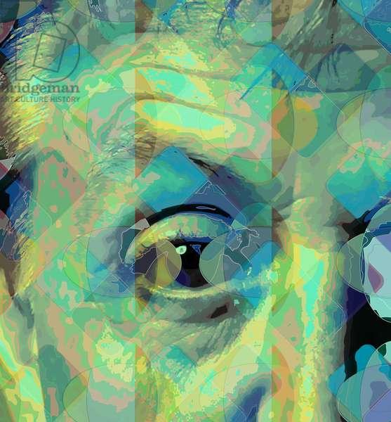 McCartney eye, 2013 (digital)