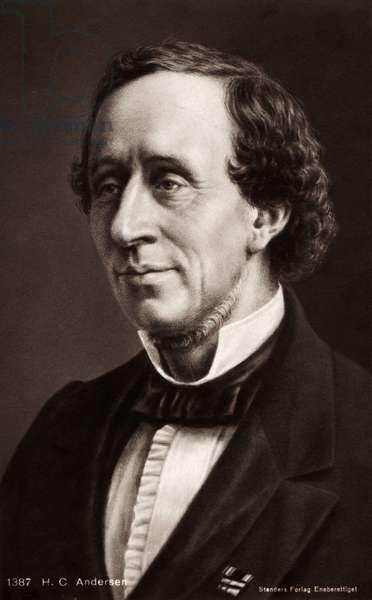 Hans Christian Andersen Portrait
