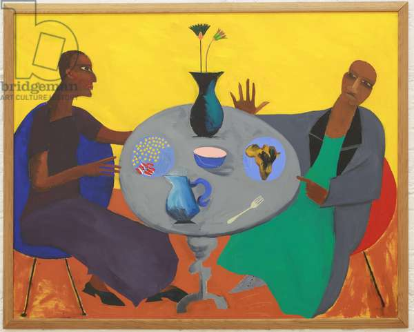 Five, 1971 (oil on canvas)