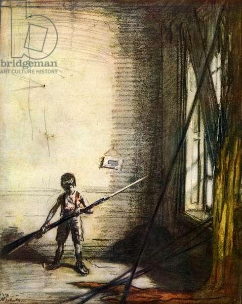 WWl The Belgian of tomorrow by William Nicholson