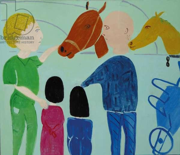 STROKING HORSES IN IBIZA