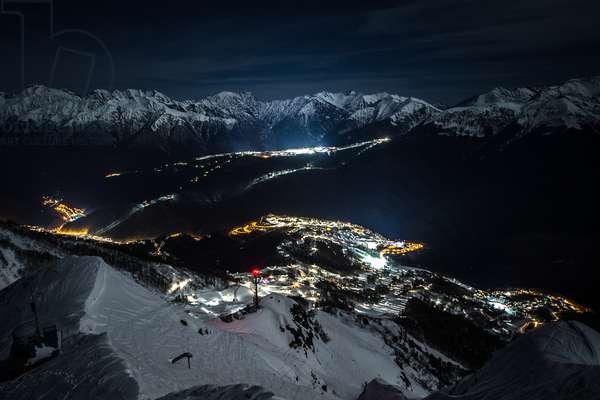 The Olympic Mountain Village, The Olympic pistes, the Rosa Khutor Alpine Center and the Rosa Khutor Extreme Park, Anton Denisov/Sputnik (photo)