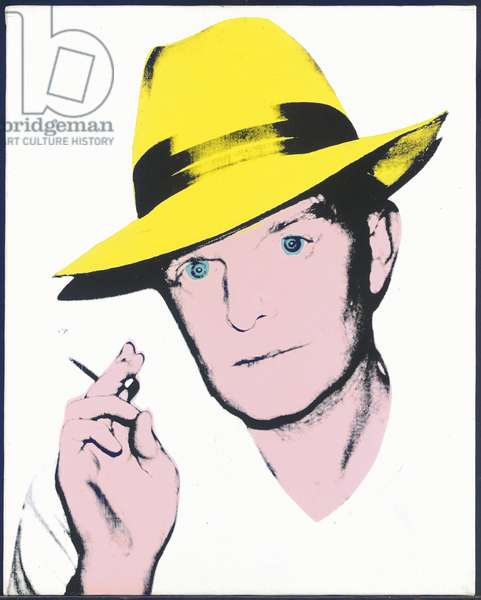 Truman Capote, 1979 (synthetic polymer & silkscreen ink on canvas) (diptych, see also 2647409)