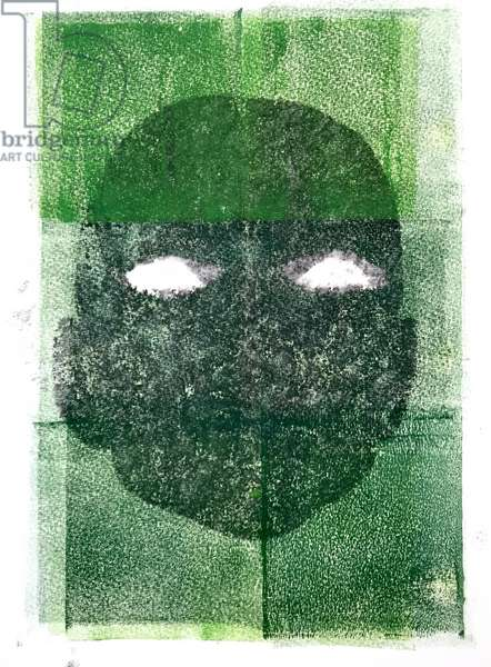 Eyeless,2020,(monoprint)