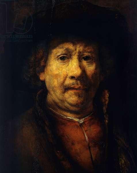 Self portrait, 1655 (oil on panel)