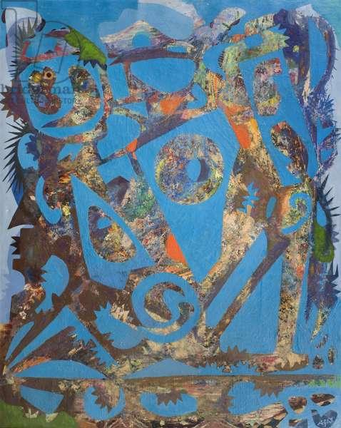 Landscape into Figures, 1962 (oil on canvas)