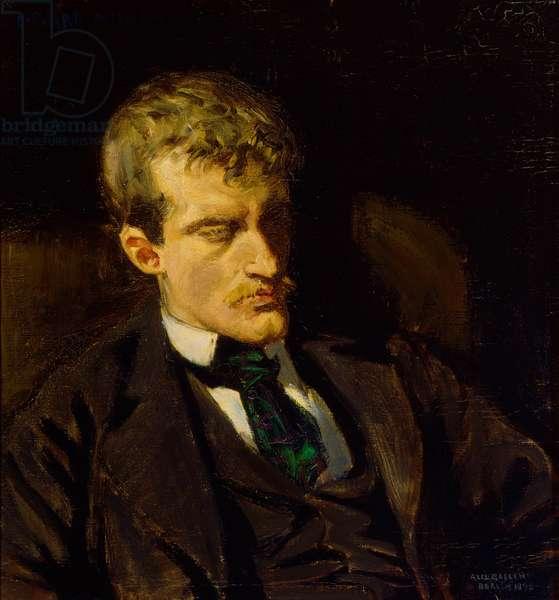 Portrait of Edvard Munch, 1895 (oil on canvas)