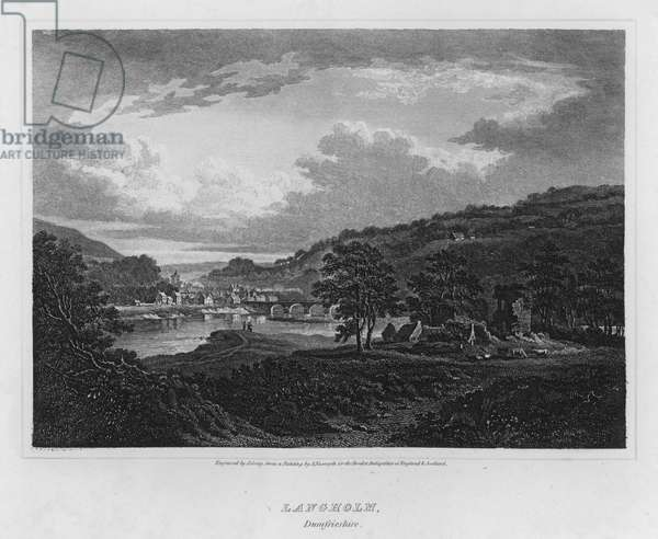 Langholm, Dumfrieshire (engraving)