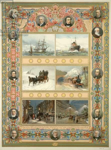 Victorian men of achievement