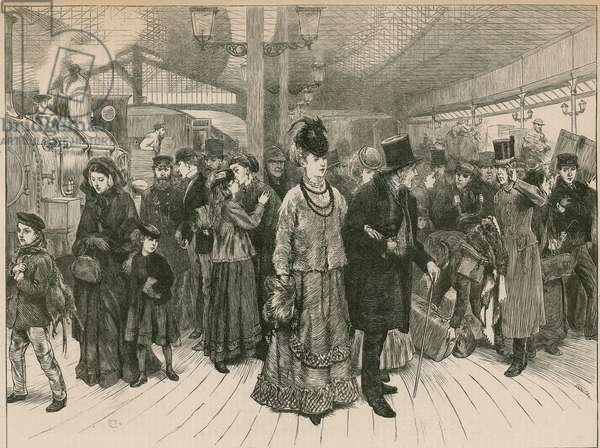 The Railway Station (engraving)