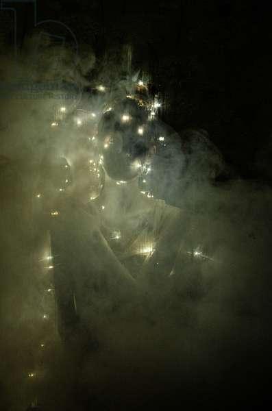 Lightness of being 1, 2014, screen print