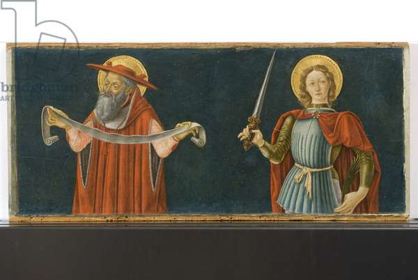 Triptych of Justice (detail of 5615119), 1475 (tempera & oil on panel)